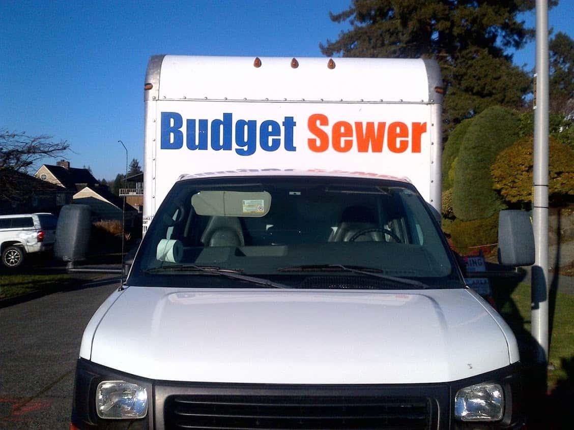 budget sewer truck